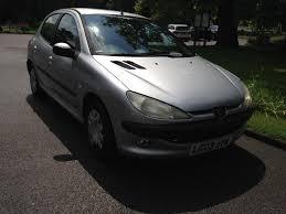 2003 peugeot 206 1 4 manual petrol service history 8 months mot