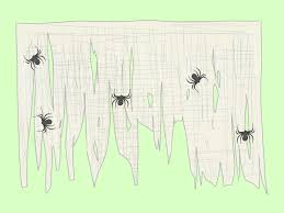 cobweb spray for halloween 4 ways to make a spider web wikihow