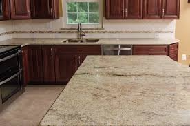 Granite With Cherry Cabinets In Kitchens Golden Ivory Granite With Cherry Cabinets Traditional Kitchen