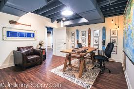 office space basement the basement man office is complete unskinny boppy