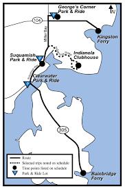 91 kingston bainbridge kitsap transit