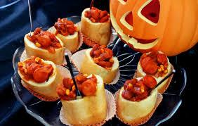 halloween bites sweet u0026 spicy chili bread bowls recipe modern