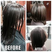 modified stacked wedge hairstyle salon haircut denver s best precision haircut do the bang