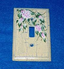 Shabby Chic Light Switch Covers by 26 Best Hand Painted Wood Light Switch Plate Covers Images On