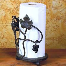 free standing paper towel holders timeless wrought iron