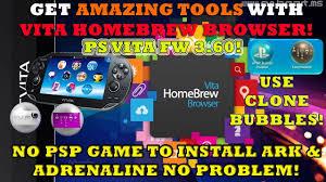 psp theme toolbox free download installing vita homebrew browser epsp bubble installer adrenaline
