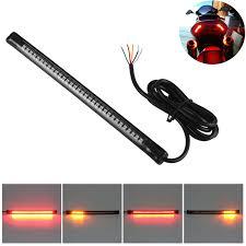led light strip turn signal 32 led flexible motorcycle brake turn light strip noahs cave