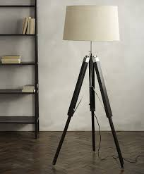 Tripod Floor L Decorating Studio Style Floor L Wooden Tripod Floor L Base
