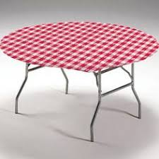 60 inch round elastic table covers the 60 inch round plastic elastic table cover grabs onto the table s