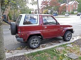 daihatsu jeep curbside classic 1990 daihatsu rocky se u2013 technical knockout