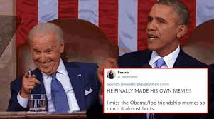 Biden Memes - bringing the bro code back barack obama posts hilarious meme for