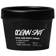 ocean salt face and body scrubs lush cosmetics lush fresh