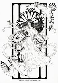 art nouveau by blackbutterfly007 on deviantart art nouveau