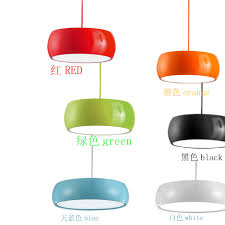 Color Cord Pendant Light New Nordic Minimalist Black Metal Iron Cage Pendant Light Wooden