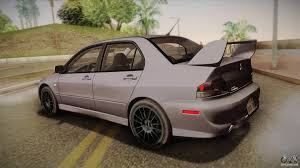 mitsubishi gsr 2017 mitsubishi lancer gsr evolution viii 2003 for gta san andreas