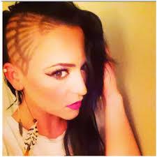 clipper design hair design barber life model lauren j