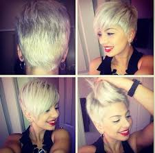 side and back views of shag hairstyle 35 vogue hairstyles for short hair popular haircuts