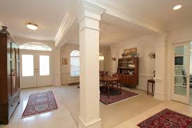 formal dining rooms with columns boca raton dining room