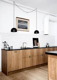 light wood kitchen cabinets with black countertops 71 stunning scandinavian kitchen designs digsdigs