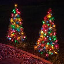 outdoor decorations 3 walkway pre lit winchester fir tree 100
