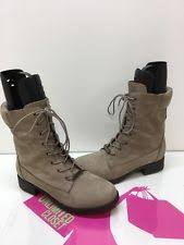 womens combat boots size 12 aldo leather combat boots lace up shoes for ebay