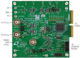 solutions dc2222a b ltc2508 32 demo board 32 bit over