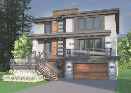new hillside house plans for sloping lots decor modern on cool