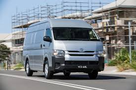 toyota hiace gets a range of updates photos 1 of 8