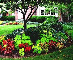 garden ideas choosing landscaping around house gorgeous flower bed