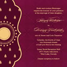 Marriage Quotes For Invitation Card Indian Wedding Invitations Blueklip Com