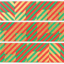 christmas pattern red green mt washi tape red green gold metallic stripe deco tape merry