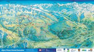 Map A Walking Route by Walking And Trekking Bike Alp D U0027huez