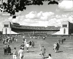 ohio stadium in the 1950 that was when i was there the
