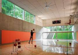 Ideas For Indoor Home Basketball Courts Basketball Court - Home basketball court design
