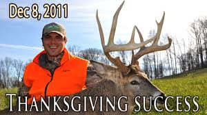 in11 10 thanksgiving success midwest whitetail