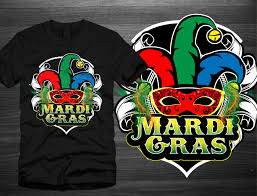 mardi gras tees t shirt design for hirsch pipe supply co by one day graphics