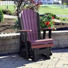 Gliding Adirondack Chairs Buy Polywood Gliders Poly Gliders Premium Poly Patios