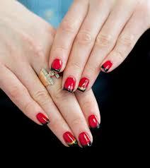 polish colors red carpet stunning black blue nail polish fancy