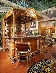 luxury french baroque style home bar furniture set european