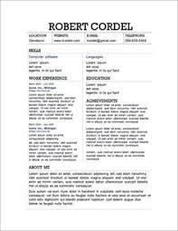 Free Microsoft Word Resume Templates Word Templates Free Downloads Free Microsoft Word Resume