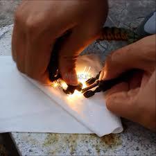 paracord bracelet whistle fire images 9 39 39 survival paracord bracelet w flint fire starter buckle jpg