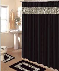 Fabric Shower Curtains With Matching Window Curtains Shower Curtains Matching Bath Accessories Bath Decor Bathroom