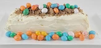 easter dessert chocolate ripple cake