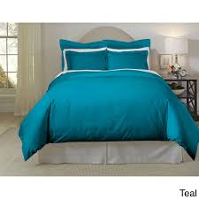 Teal Duvet Cover Pointehaven 620 Thread Count Long Staple Cotton Duvet Cover Set