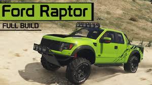 Ford Raptor Off Road - ford f 150 svt raptor offroad u0026 street build gta v car mods