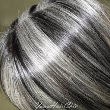 doing low lights on gray hair this is a hispanic lady that has turned completely silver i added
