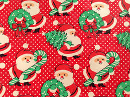 vintage christmas wrapping paper vintage christmas wrapping paper vintage 1960s christmas