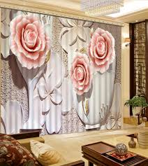 online get cheap 3d relief home decor aliexpress com alibaba group fashion 3d home decor beautiful relief 3d curtain flower fashion decor home decoration for bedroom living