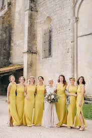 yellow dresses for weddings fresh yellow bridesmaid looks for summer wedding weddceremony