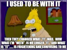 Simpsons Meme Generator - grandpa simpson interview meme generator imgflip